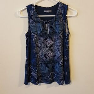 Adorable tie front tank by Tart